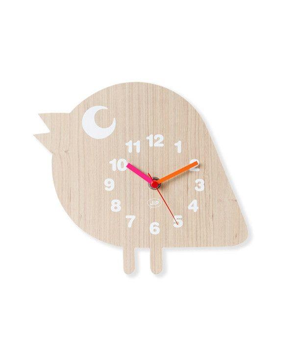 Fun Animal Wooden Wall Clock