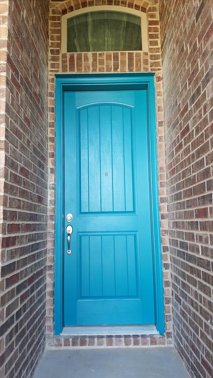 Our homeowners are free to paint their front door any color they choose! A fun & 36 best Doors Galore images on Pinterest | Brick Bricks and Doors ...
