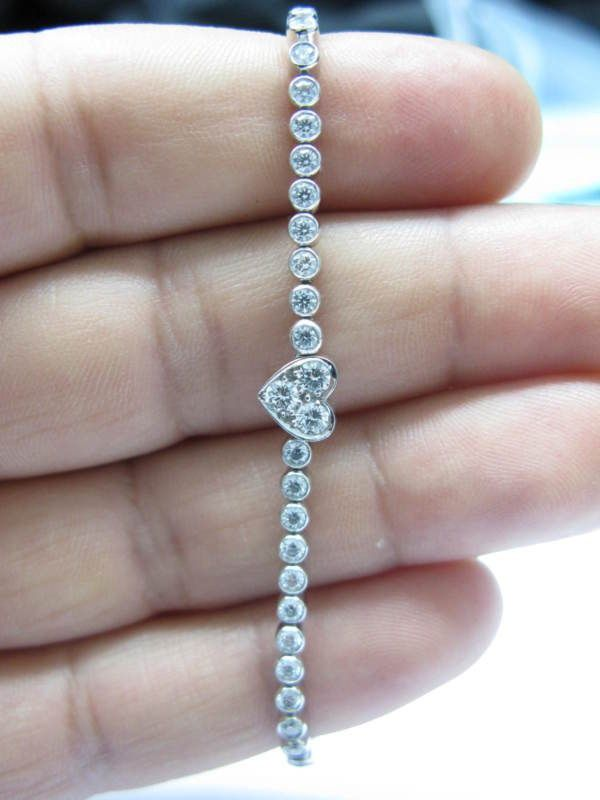 Tiffany Diamond Tennis Bracelet                                                                                                                                                     More