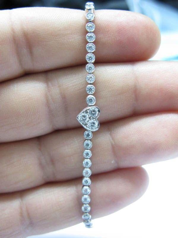 Tiffany Diamond Tennis Bracelet                                                                                                                                                     More