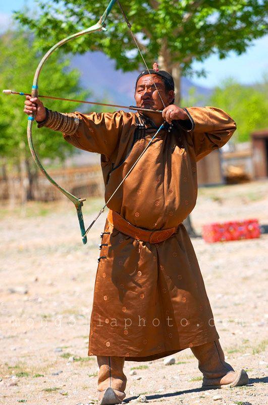 Mongolian people | current Mongolian archery champion | People | Mongolia photo
