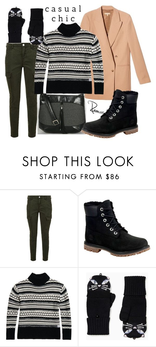 """Casual chic"" by aleva on Polyvore featuring J Brand, Timberland and Kate Spade"