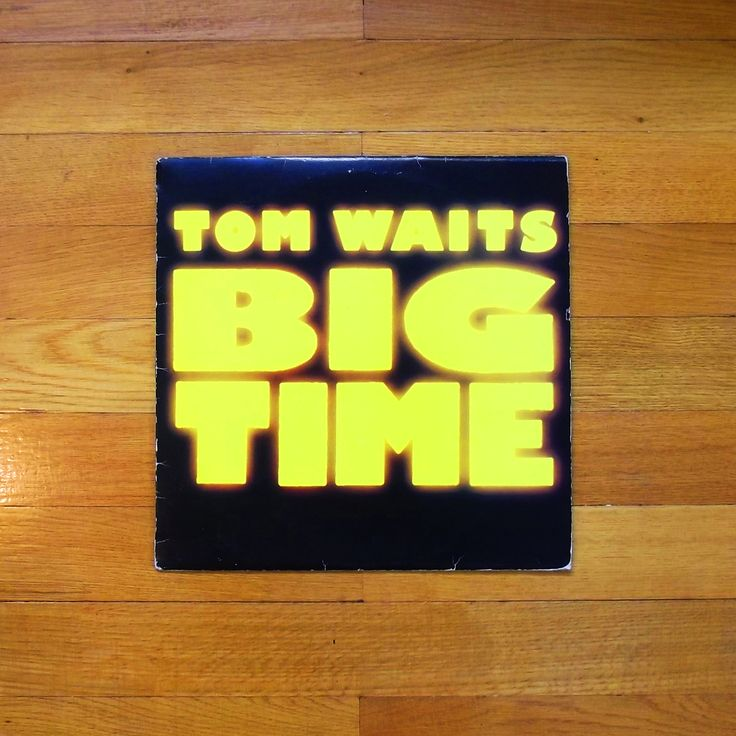 One of my favorit vinyl records # Tom Waits - Big time 1988