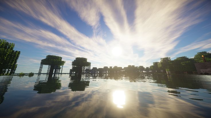If you have minecraft get glsl shaders.