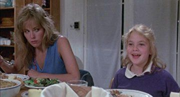 Drew Barrymore and Sharon Stone in Irreconcilable Differences (1984)