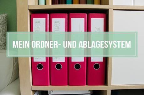 Mein Ordner- und Ablagesystem 2.0