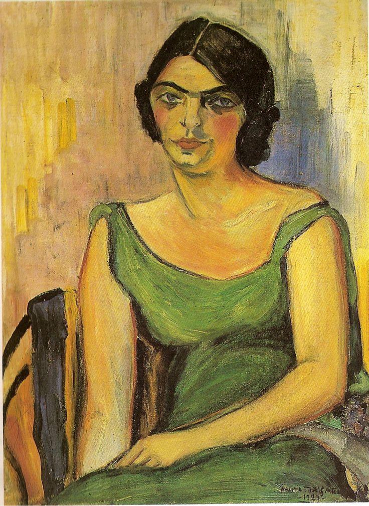 Fernanda de Castro  Anita Malfatti  1922  Óleo sobre tela