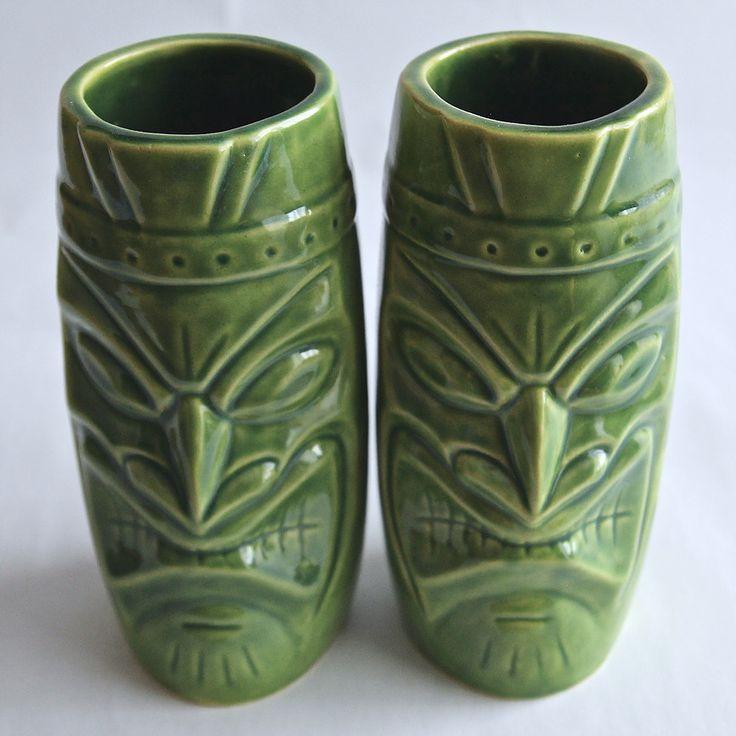 """Warrior"" tiki mug. ""Wojownik""- tiki mugs. Hand-made. 550ml. by Benusha - ceramika"