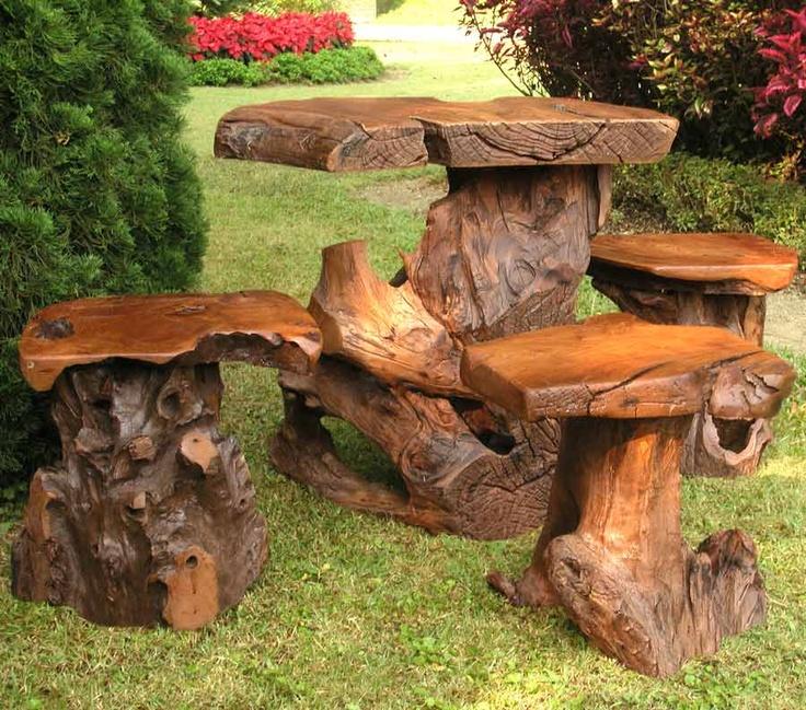 Joshua Tree Table U0026 3 Sierra Seat Set
