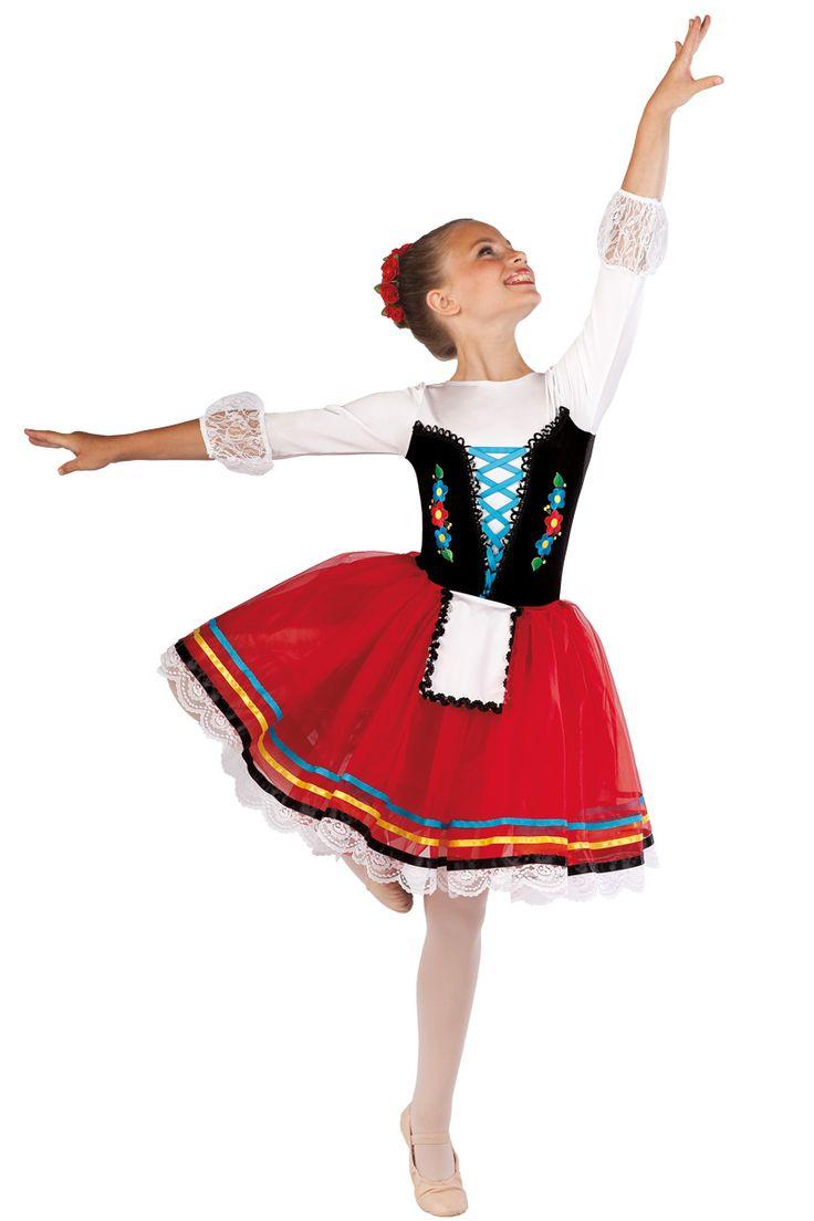White apron costume - 15414 Gretel Ballet Pointe Dance Costumes Dansco 2015 Black Velvet White And