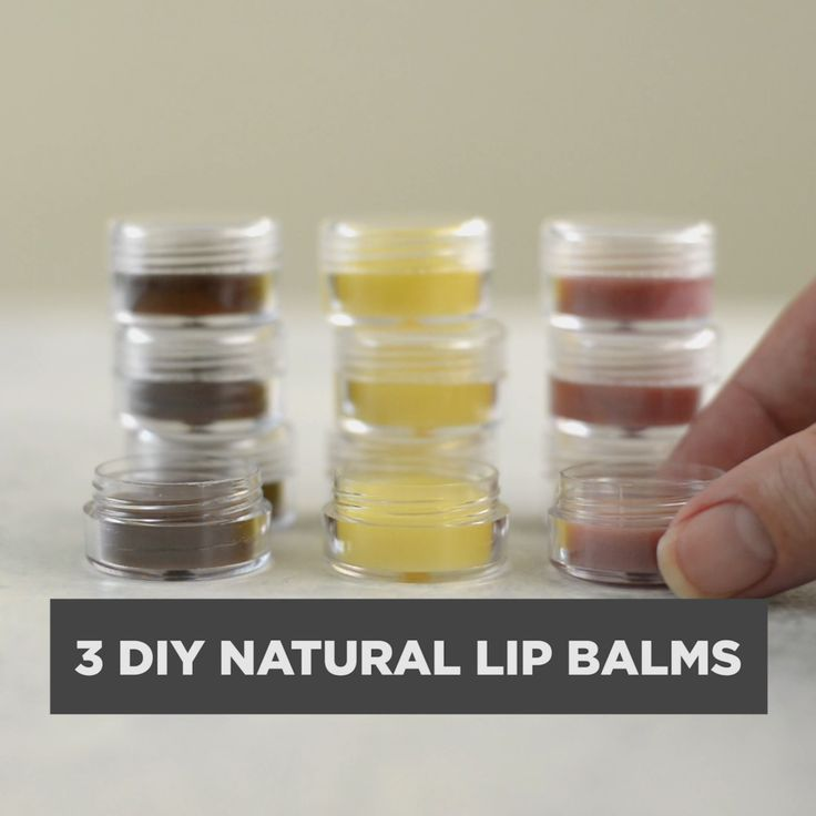 Avoid unreadable ingredients and make your own DIY lip balms at home with natural ingredients.