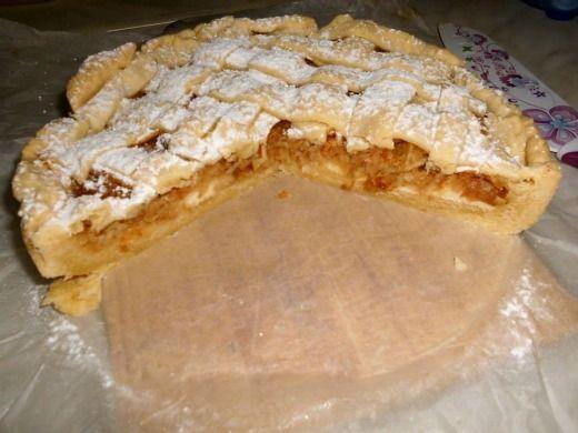 Linecký koláč s jablky - Recepty na každý den