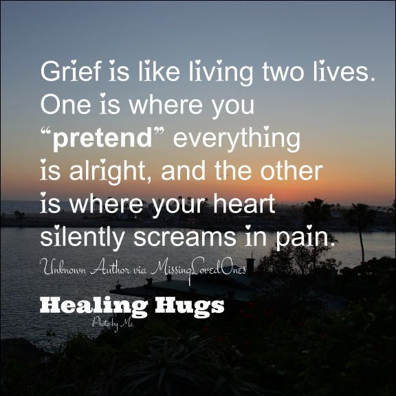silent screams | grief | Grieving quotes, Grief, Missing ...
