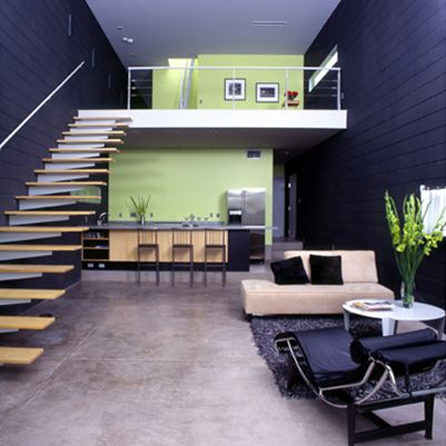 small house with loft images | En la actualidad, las viviendas tipo loft se han convertido en todo un ...