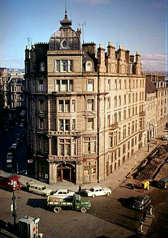 Mathers hotel in what looks like early 1960s