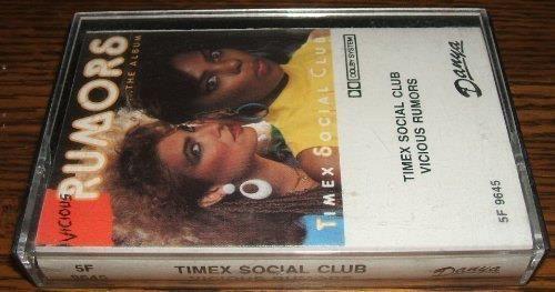 Timex Social Club Vicious Rumors Cassette New Jack Swing Old School 1985 Danya #RapHipHopOldSchoolRap