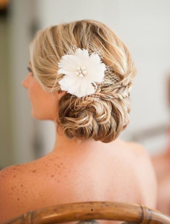 Miraculous 1000 Images About Beautiful Wedding Hair On Pinterest Wedding Short Hairstyles Gunalazisus