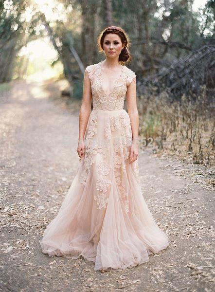 Boho Hochzeitskleid - magisch