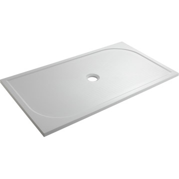 Receveur de douche rectangle Klara en résine, 80x140 cm | Leroy Merlin