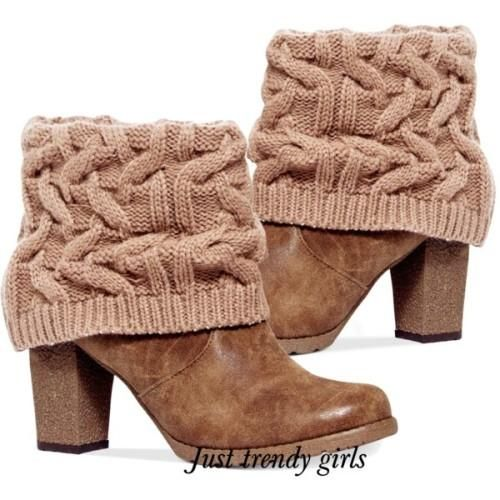 cuff wool boots, Ankle booties for women http://www.justtrendygirls.com/ankle-booties-for-women/
