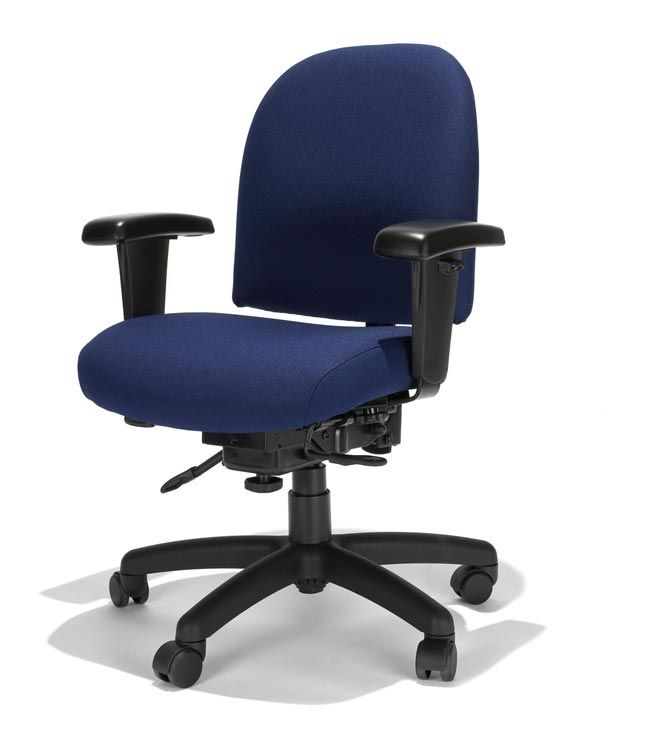 Mid Back Task Chair Fortune Midnight By RFM Seating   1 800 460
