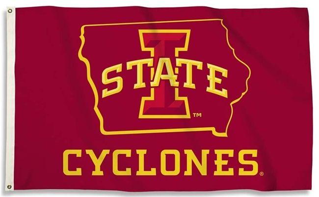 Iowa State Cyclones State 3x5 I State Flag Iowa State Cyclones Iowa State Cyclone