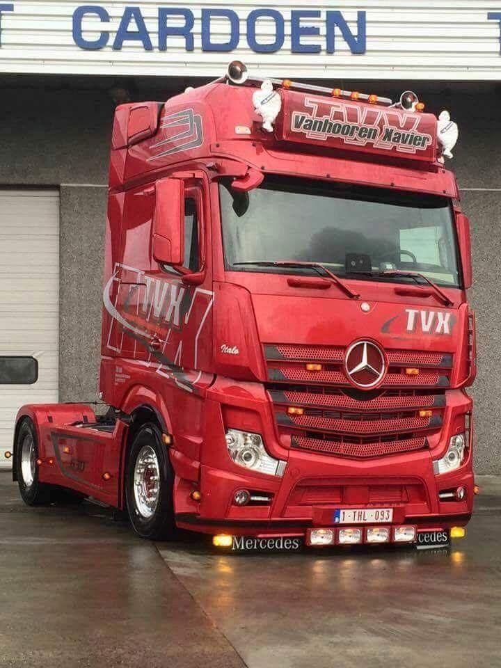 Mercedes Mercedesbenz Mercedestrucks Trucks Germany