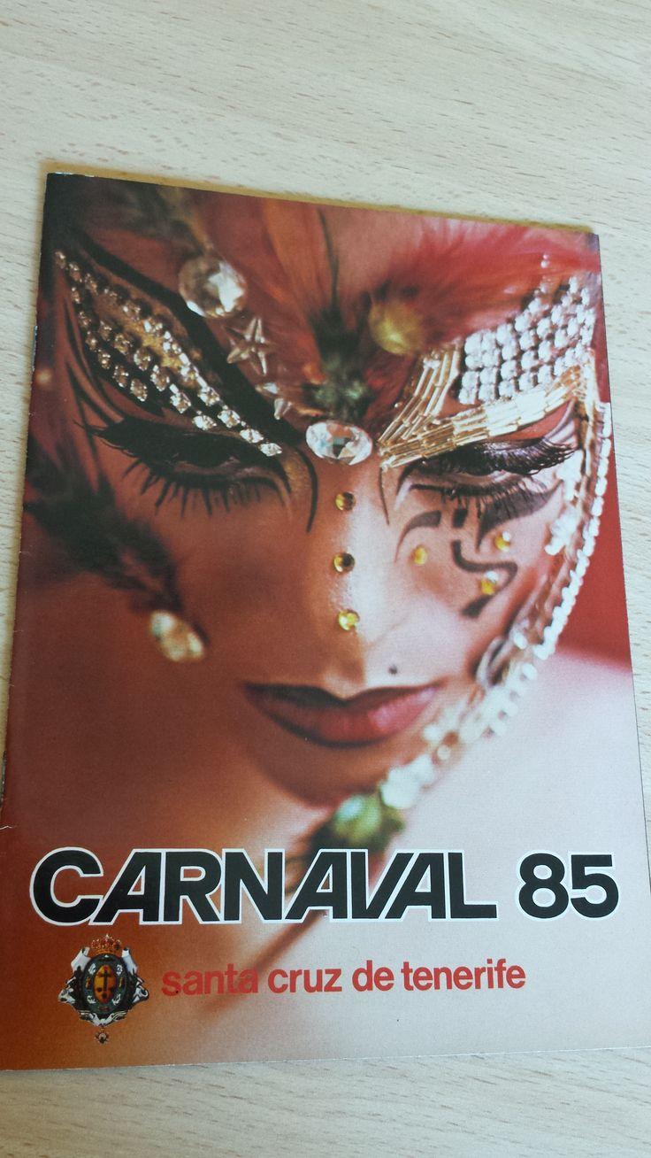 Vendo Carnaval de Santa Cruz de Tenerife, año 1985. Comparto en Todocolección