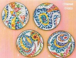 Spanish - 'Exodo' plates