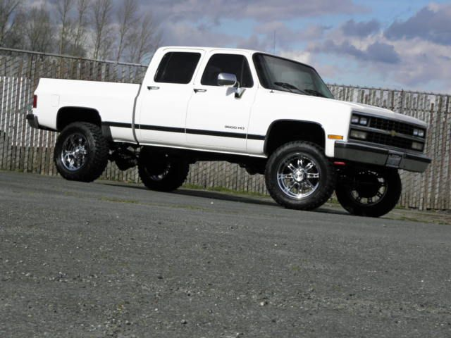 1000 Images About Crew Cab Square Bodies On Pinterest Chevy Trucks And 4x4