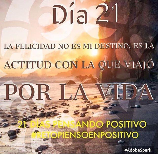 Lo logramos ... La felicidad es la actitud.. ☘☀️ @cony_peque @la_yoyo_qui  #Día21 #Retopiensopositivo #56 # Hoyyyy