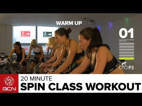 Another awesome indoor cycling workout. Burn Fat Fast: 20 Minute Spin Class Workout - YouTube