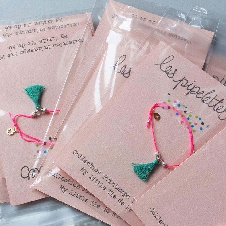 bracelet pompon présentation