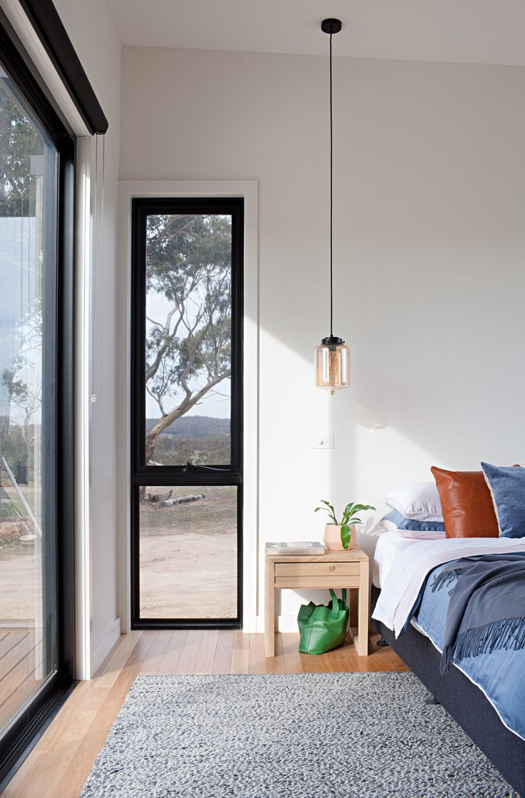 Clydesdale House | Rural House by Archiblox | Photographer: Tatjana Plitt www.archiblox.com.au #prefabhomes #modularhomes #archiblox #bedroom