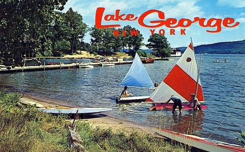 Lake George at Silver Bay, Hague, New York
