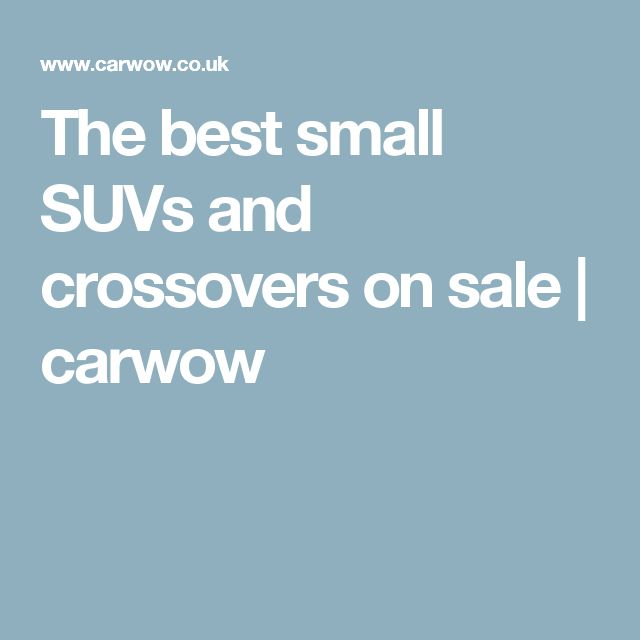 The best small SUVs and crossovers on sale | carwow