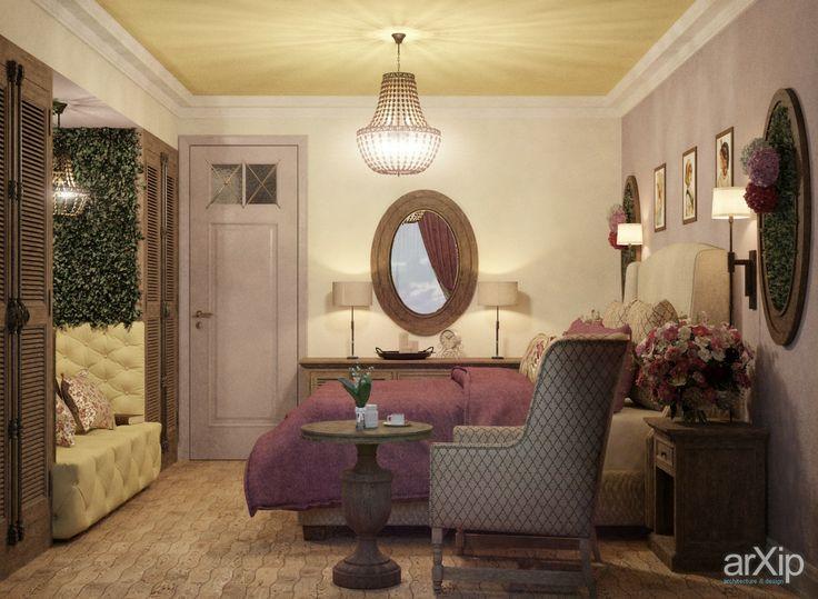 Спальня для молодой женщины: интерьер, зd визуализация, квартира, дом, спальня, 10 - 20 м2, кантри, интерьер #interiordesign #3dvisualization #apartment #house #bedroom #dormitory #bedchamber #dorm #roost #10_20m2 #country #interior arXip.com