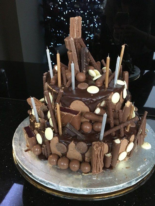 Admirable 28 Extreme Birthday Cakes Extreme Chocolate Cake Personalised Birthday Cards Petedlily Jamesorg