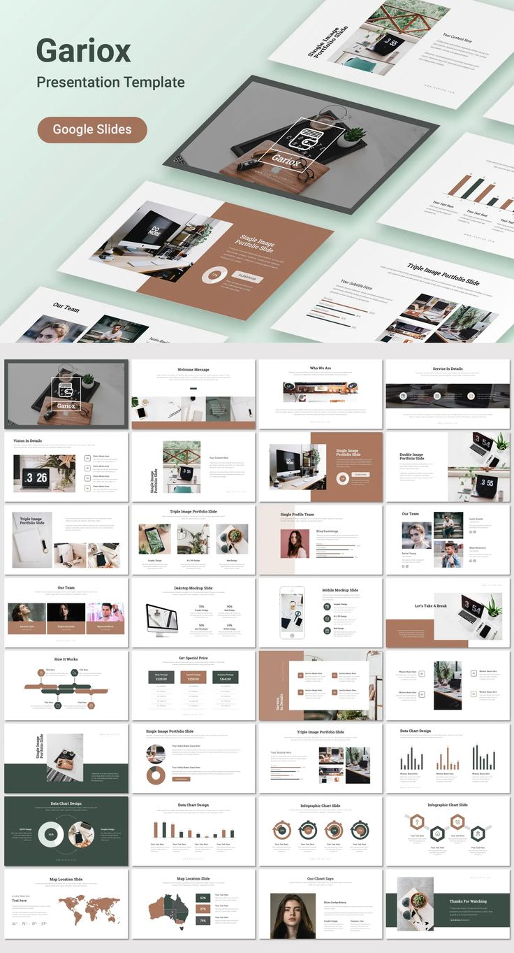 Gariox Google Slides Template