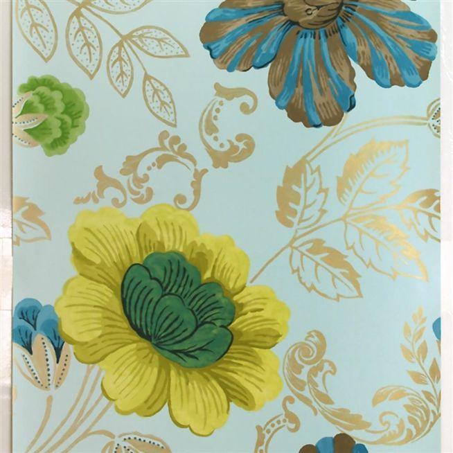 amalienborg - celadon wallpaper | Designers Guild