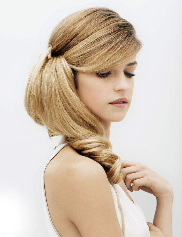 55 best 50 plus belles coiffures de mariages images on Hair fashion style salon de coiffure