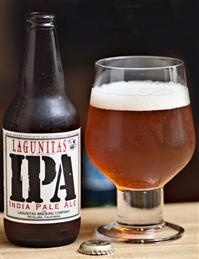 Lagunitas IPA. 7% alc. This is there regular IPA which is very good, for those who are looking to try a IPA for the first time this would be a good one to try first. Rate 8/10