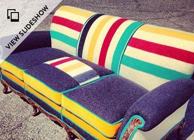 78 Images About Vintage Hudson Bay Blankets On Pinterest
