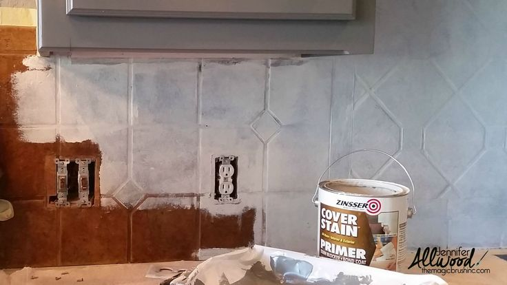 paint kitchen tile primer