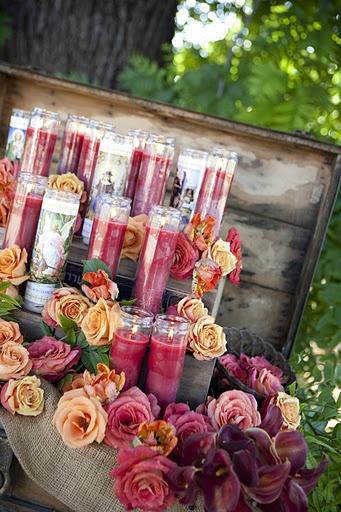 Dia de Los Muertos: Altar Candles