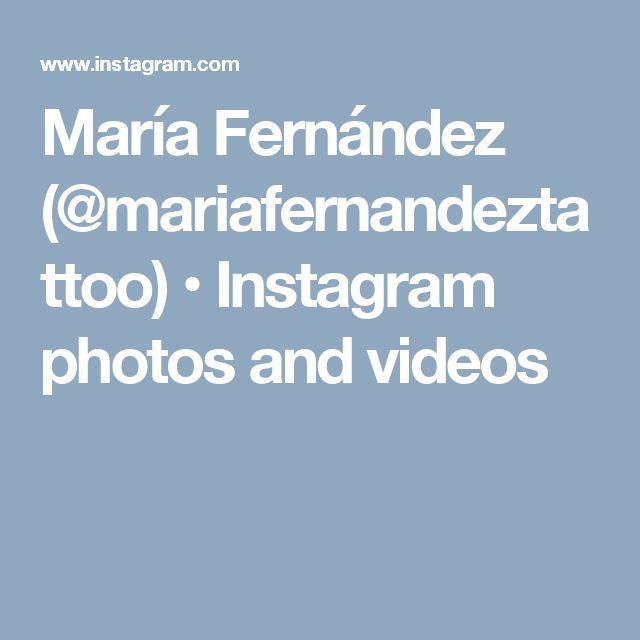 María Fernández (@mariafernandeztattoo) • Instagram photos and videos