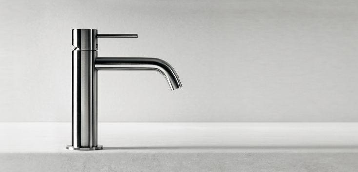 Rubinetterie e soffioni doccia in acciaio inossidabile AISI 316L: CleoSteel di Fir Italia