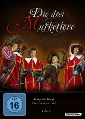60ger Jahre serie die drei musketiere    Die drei Musketiere - Teil 1 und 2 (1961), Alexandre Dumas père, Jean ...