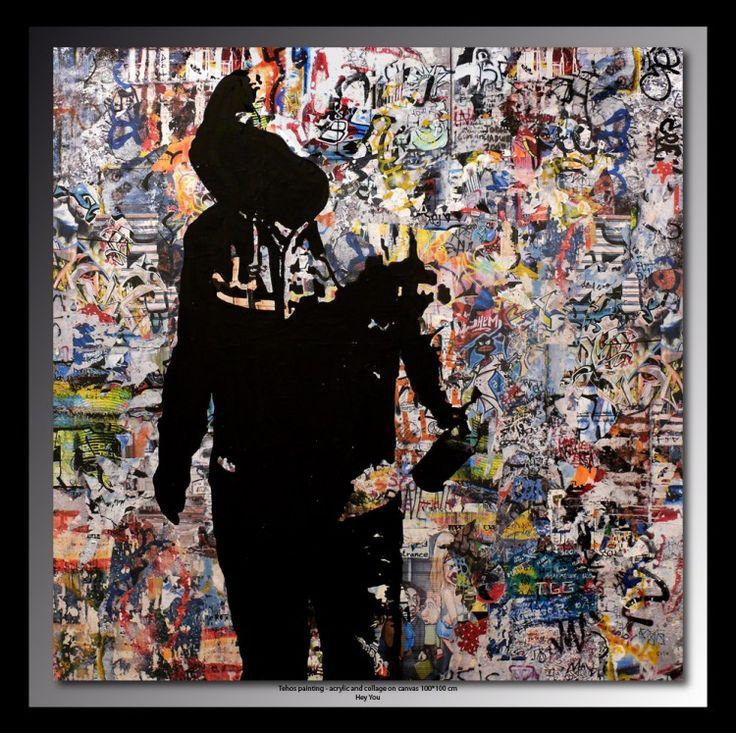 les 107 meilleures images du tableau tehos sur pinterest art saatchi art urbain et esth tique. Black Bedroom Furniture Sets. Home Design Ideas
