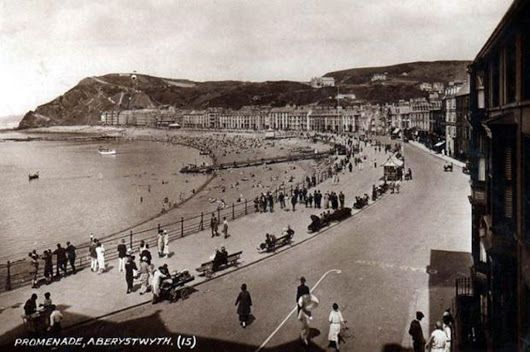 'Aberystwyth is a city in the United Kingdom (Wales) on the river Ystwyth, in County Ceredigion over the Bay of Cardigan (Irish Sea).